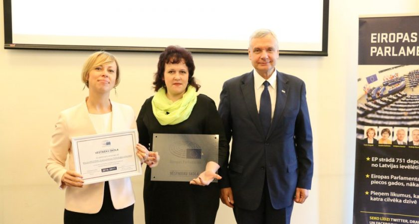 ATV – Eiropas Parlamenta Vēstniecības skola