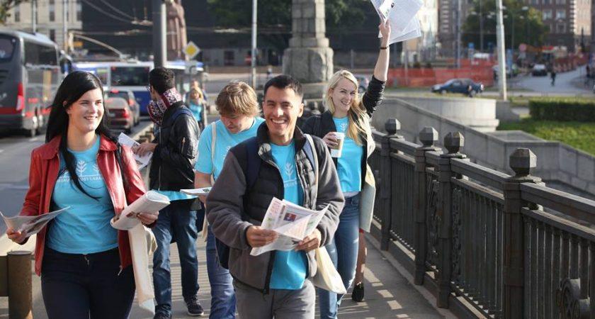 """25. septembrī Latvijā – akcija ilgtspējīgas attīstības atbalstam – """"Pasaules labāko ziņu diena"""""""