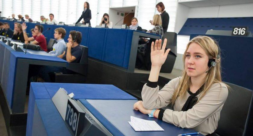 ATV – Eiropas Parlamenta Vēstniecības skola – ES Parlamentā Strasbūrā