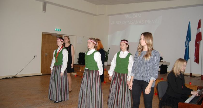 Latvijas 99. dzimšanas diena ATV