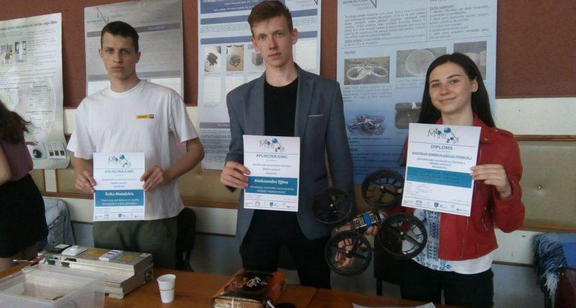 """ATV skolēni piedalās izgudrojumu un inovāciju izstādē """"Minox Latgale"""""""
