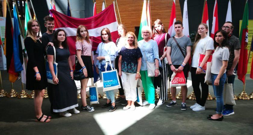 ATV skolēnu neaizmirstamais un pozitīvu iespaidu piepildītais brauciens uz Strasbūru
