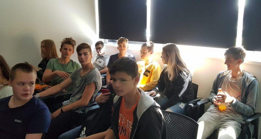 """ATV skolēni piedalās seminārā """"Kā būt veiksmīgam jaunietim mūsdienu darba tirgū"""""""