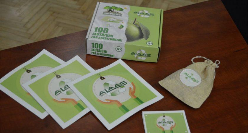 Spēļu turnīrs ATV ,,100 jautājumi par atkritumiem!''