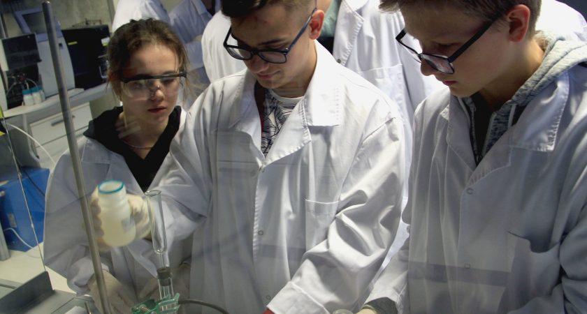 """Realizēts Jauniešu iniciatīvu projekts """"Chemical brains"""""""