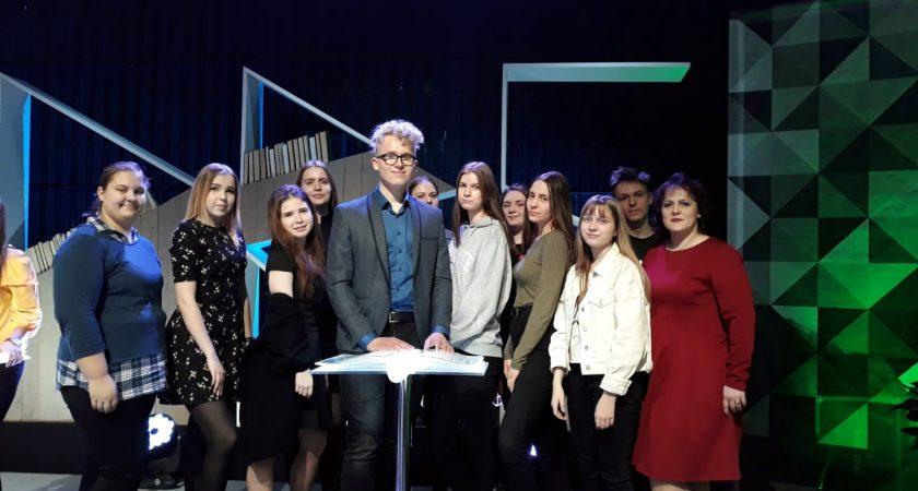 """ATV – TV raidījumā """"Gudrs un vēl gudrāks"""""""
