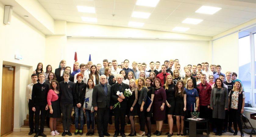 Latvijas simtgades priekšvakarā ATV tiek atzīmēta Lāčplēša diena kopā ar Daini Īvānu