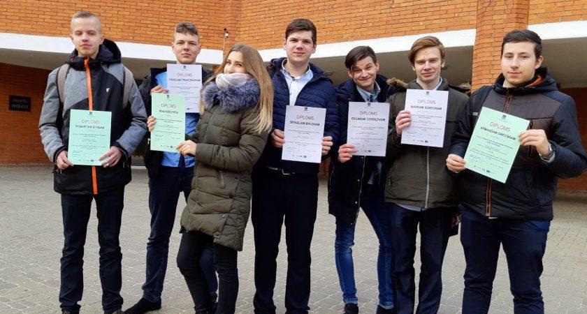 ATV skolēni gūst panākumus Latgales reģiona skolēnu zinātniskās pētniecības darbu konferencē