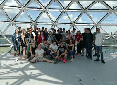 ATV skolēni mācību ekskursijā dodas iepazīt Daugavpils skrošu ražošanas rūpnīcu, medicīnas koledžas ekspozīcijas un Etnokosmoloģijas muzeju Lietuvā
