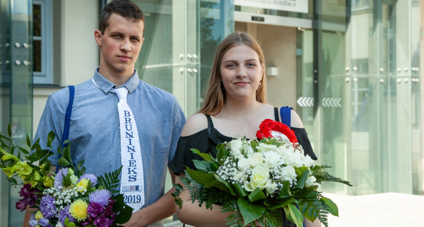 RTA Rozes svētkos Bruņinieka titulu iegūst ATV absolvents Ēriks Meteļskis