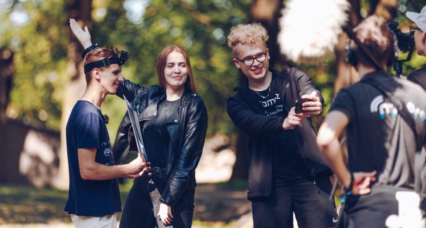 """ATV jaunieši piedalās LTV raidījuma """"Vēstures skolotājs"""" filmēšanā"""