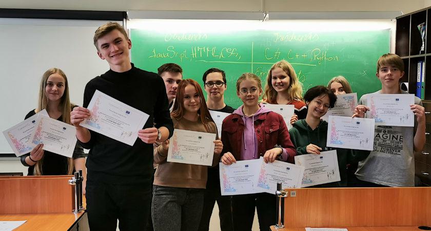 Austrumlatvijas Tehnoloģiju  vidusskola organizē pasākumus Code Week ietvaros